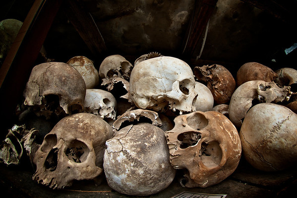 The Killing Fields at Choeung Ek - Phnom Penh, Cambodia.