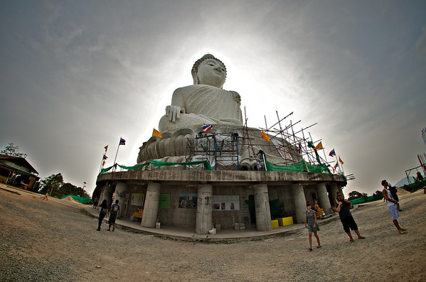 The Big Buddha in Phuket!