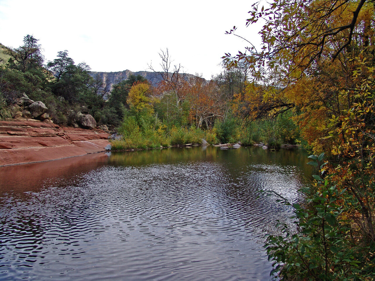 SECRET PLACE NEAR SEDONA, ARIZONA