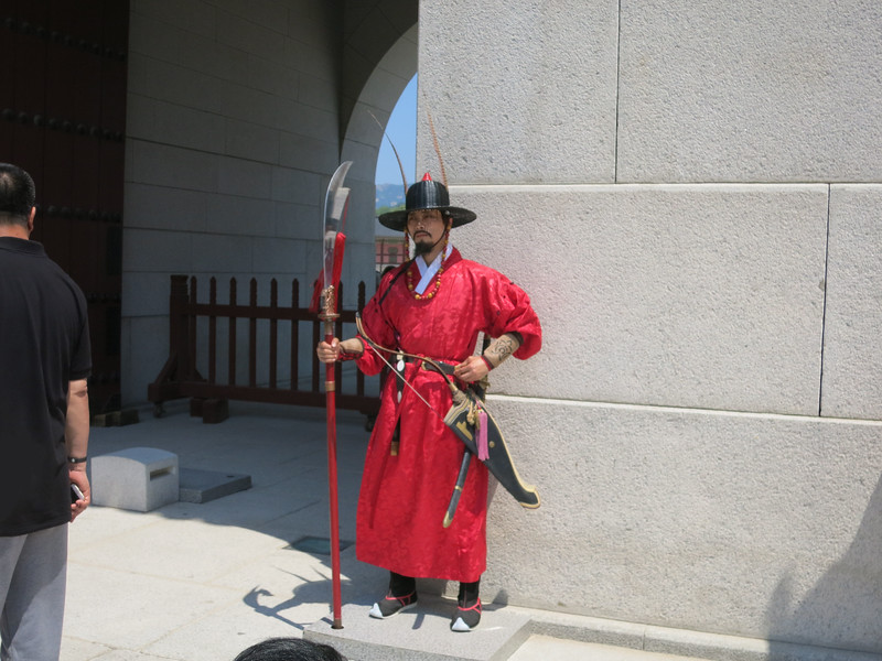Royal Guard at Gyeongbokgung Palace, Gwanghwamun Gate