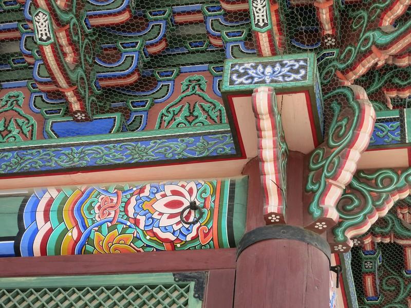 Ceiling beam details, main throne hall
