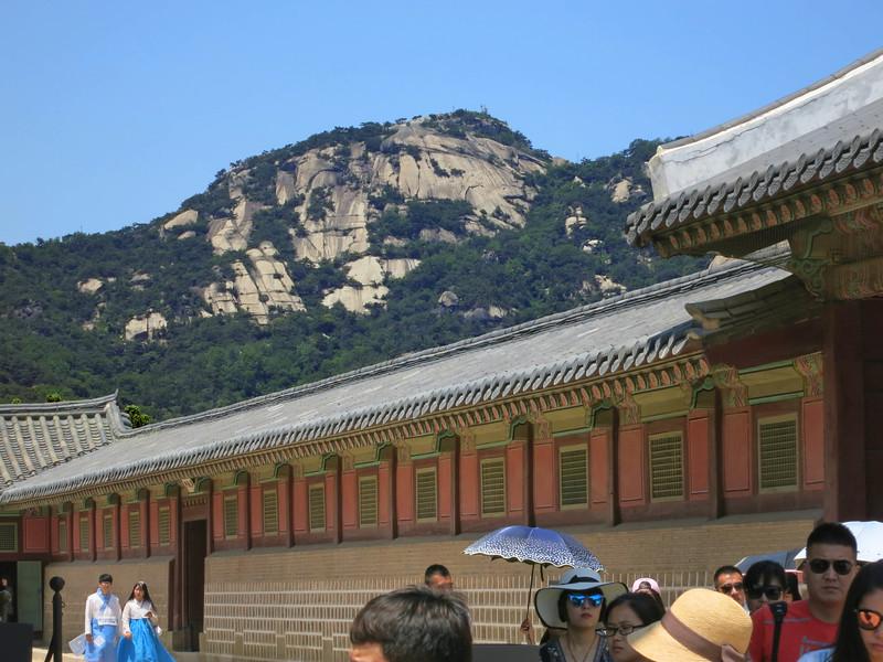 Inwangsang, the west mountain