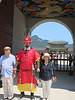 Check out the ceiling!