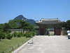 We entered through this gate from the parking lot