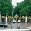One entrance to Buckingham Palace