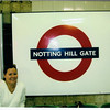 Notting Hill stop on the Tube