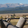 9.18.09 - View from the Stables - looking at Mt Massive, I believe<br /> (Photo from K.Johnson)