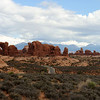 First view of Arches NP as you drive in on the main road.