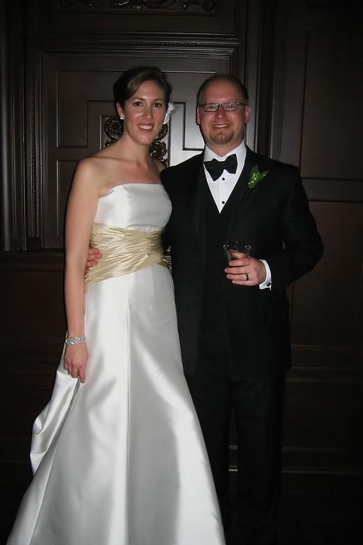 Scott and Danielle's wedding