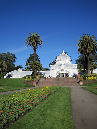 SF Conservatory and Asian Art Museum