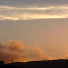 Sunset at SFO