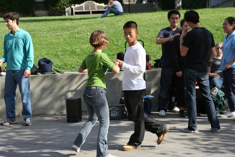 Outdoor dancing, Berkeley
