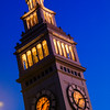 Ferry Building in Blue