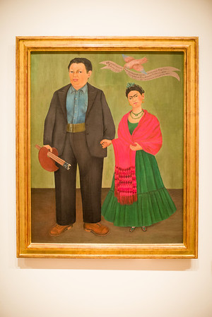 "SFMOMA, Frida Kahlo, "" Frieda and Diego Rivera"" 1931"