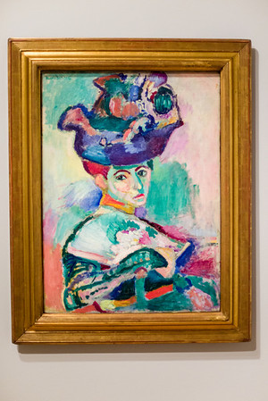 "SFMOMA, Henri Matisse, ""Woman in a Hat"", 1905"