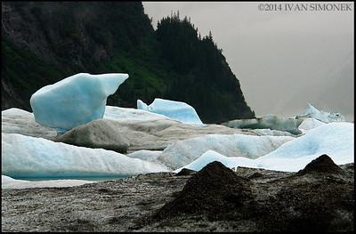 """""""SHAKES LAKE PILEUP"""",Alaska,USA."""