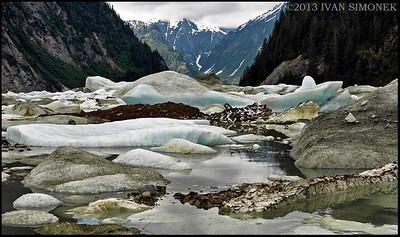 """""""SHAKES LAKE JAM"""",Alaska,USA."""