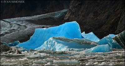 """CALVING 1"",Shakes glacier,Alaska,USA."