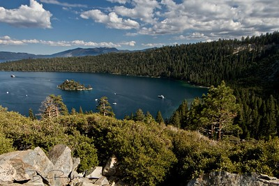 Emerald Bay with Fannette Island