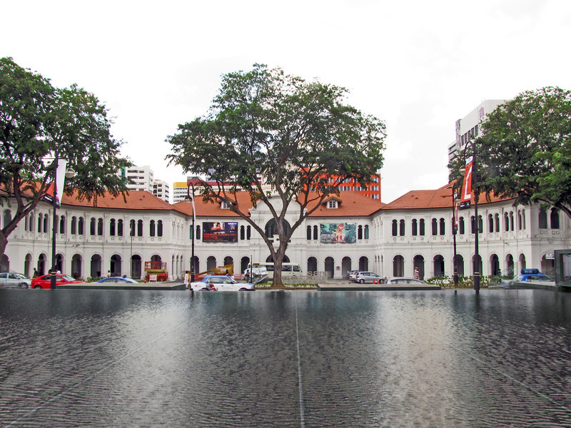 01-Singapore Art Museum across Bras Basah Road, from Singapore Management University