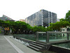 18-Singapore Management University forecourt and reflecting pool