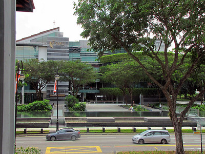 16-Singapore Management University and Bras Basah Road from the Singapore Art Museum