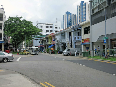 More shop houses, along Tyrwhitt Road in Jalan Besar.