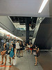 Dhoby Ghaut Metro station, June 4, 2014, 2:24 pm.