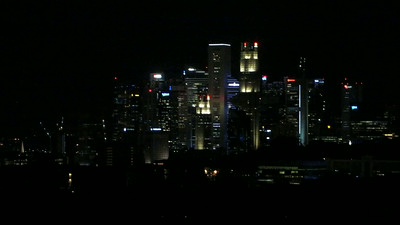 9-second VIDEO: Singapore skyline from Atlas condo, June 4 at 8:22 pm.