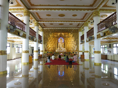 Singapore — Burmese Buddhist Temple and Sun Yat Sen Memorial