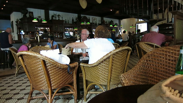 VIDEO: The Long Bar, Raffles Hotel, home of the Singapore Sling