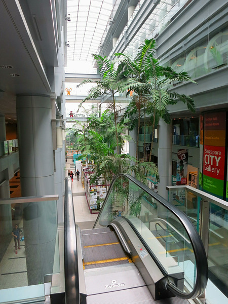 Singapore City Gallery, where the model of the city plan is displayed