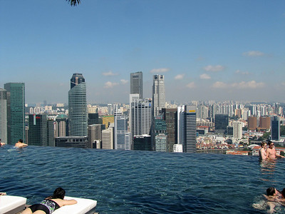 Singapore from SkyPark