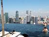Singapore skyline, infinity pool