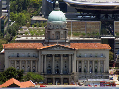 Old Supreme Court Building from SkyPark (telephoto)