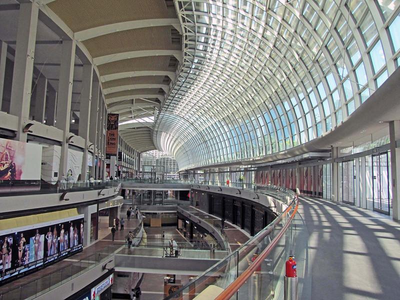 Marina Bay Sands shopping arcade