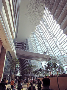 Marina Bay Sands Hotel Lobby