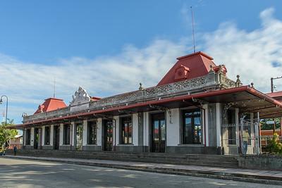 Estación del Ferro Carrill al Atlántico de Costa Rica.