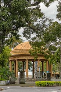 Parque Morazán-Quiosco Teatro de la Música.