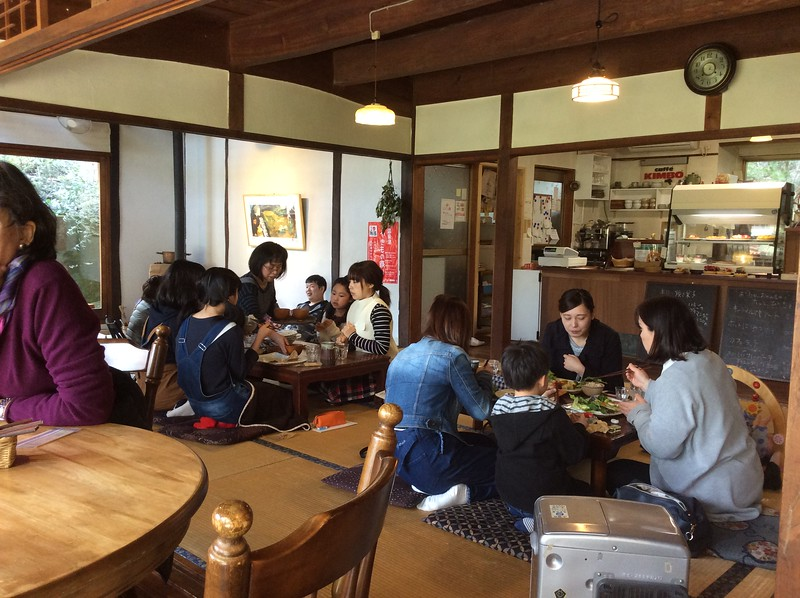 Lunch at a kominka farmhouse in Shimane Prefecture
