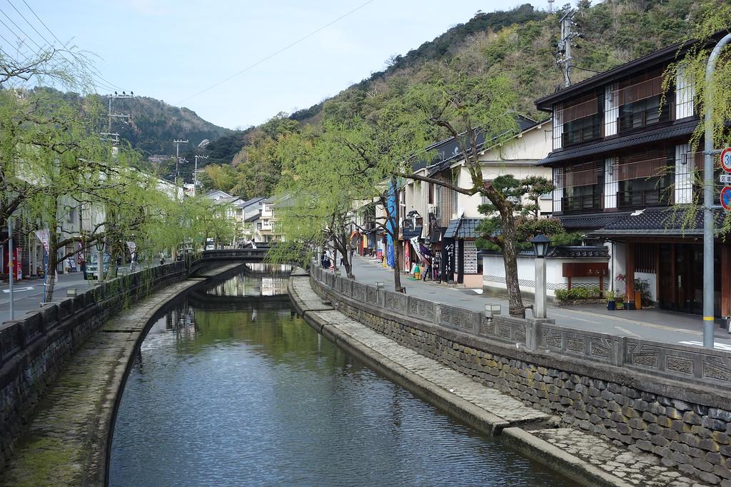 Kinosaki Onsen hotspring town.