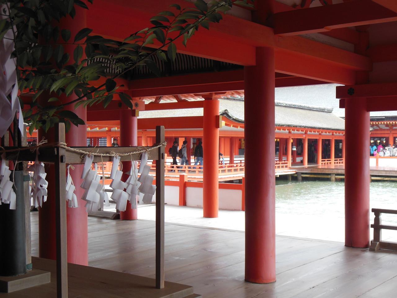 Itsukushima Jinja Shrine on Miyajima.