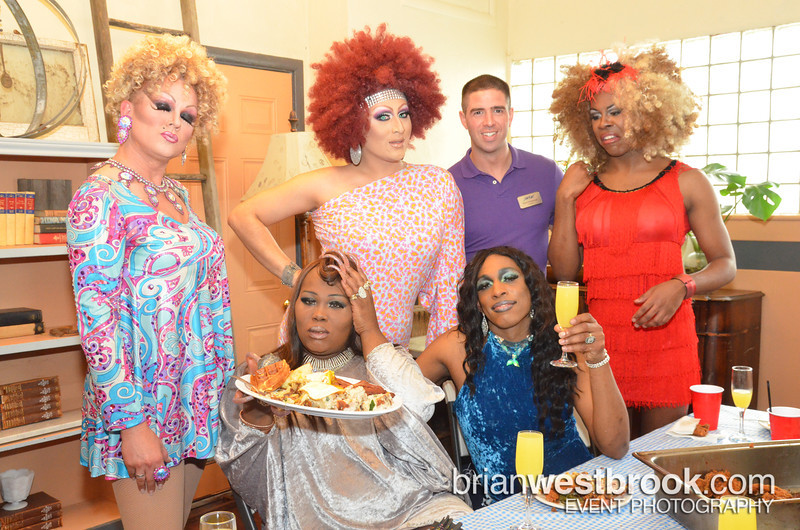 Drag Show and Brunch benefiting Sacramento's LGBT Community Center on MArch 3, 2013 sponsored by Stephan's Auto Haus, Black Butterfly Salon and Ed Farris