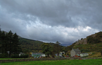 Bryn Tyrch Farm, Capel Curig, our campsite