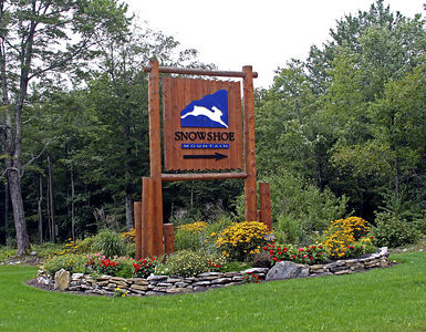 Snowshoe Mountain Resort (WV) -- Entrance from Cass