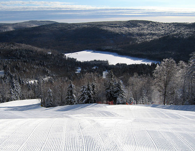 Snowshoe Mountain Resort (WV) -- First ski tracks
