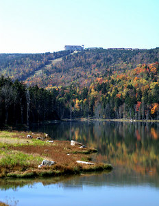 Snowshoe Mountain Resort (WV) -- Shaver's Lake and Soaring Eagle.