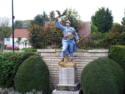 French war Memorial in Cappy.