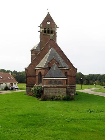 Thiepval Church.