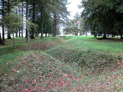 Trenches at Newfoundland Park.
